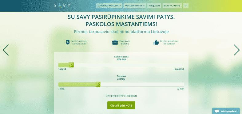 Savy Paskolos