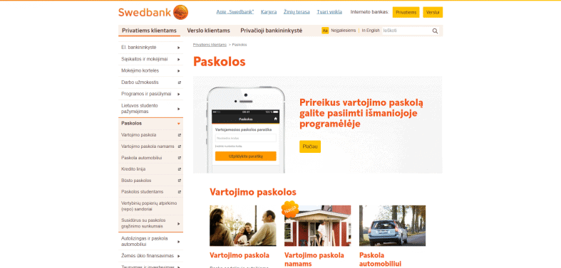 Swedbank Latvia - Swedbank