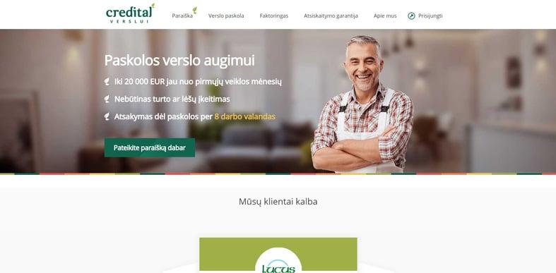 Credital verslui apžvalga ir atsiliepimai