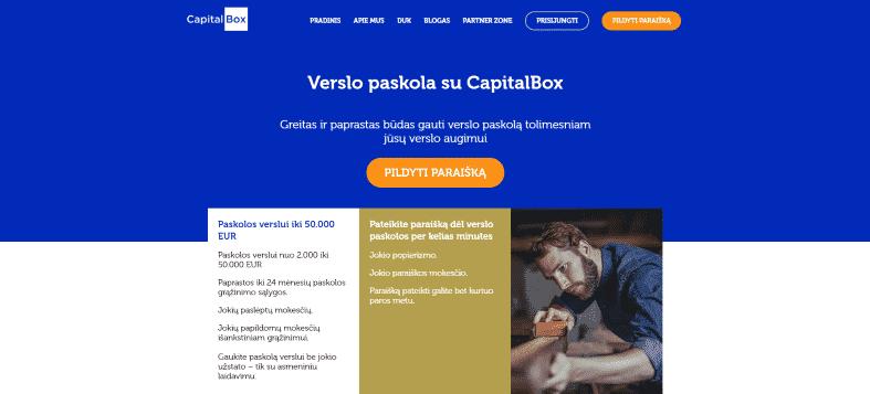 Ferratum Verslui - Capitalbox.lt apžvalga ir atsiliepimai