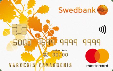 Swedbank Fiksuotų įmokų kredito kortelė