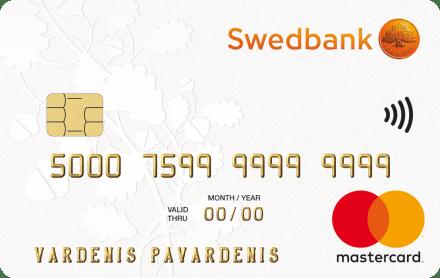 Swedbank Klasikinė kredito kortelė