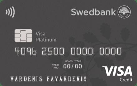 Swedbank VISA Platinum kortelė