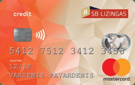 SB lizingo kredito kortelė