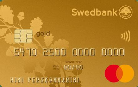 Swedbank Auksinė kredito kortelė