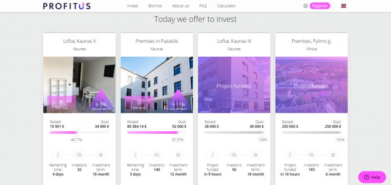 Profitus investment platform review
