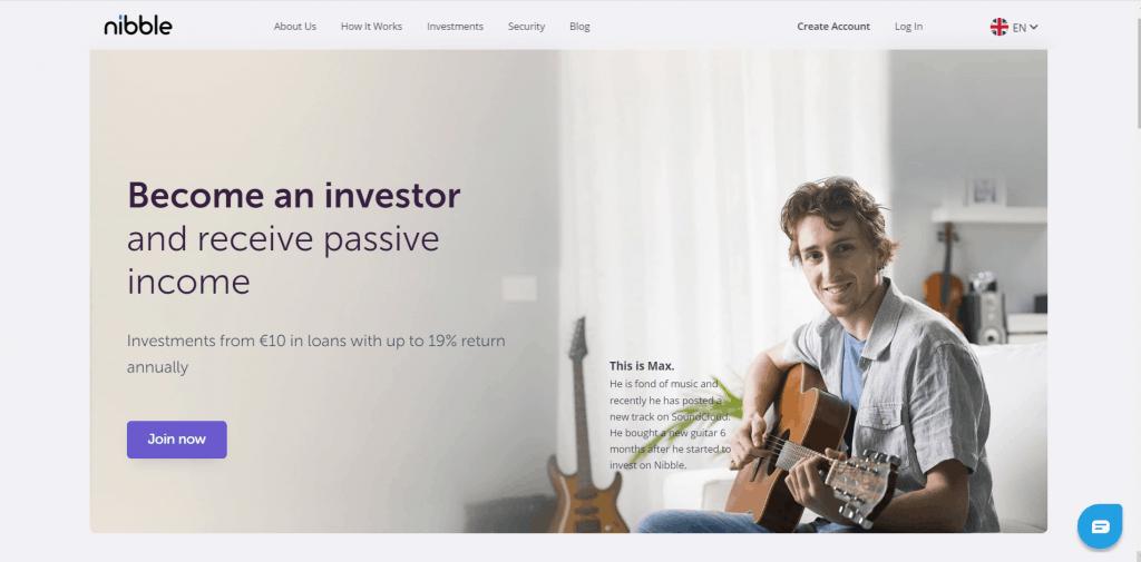 Nibble Finance atsiliepimai